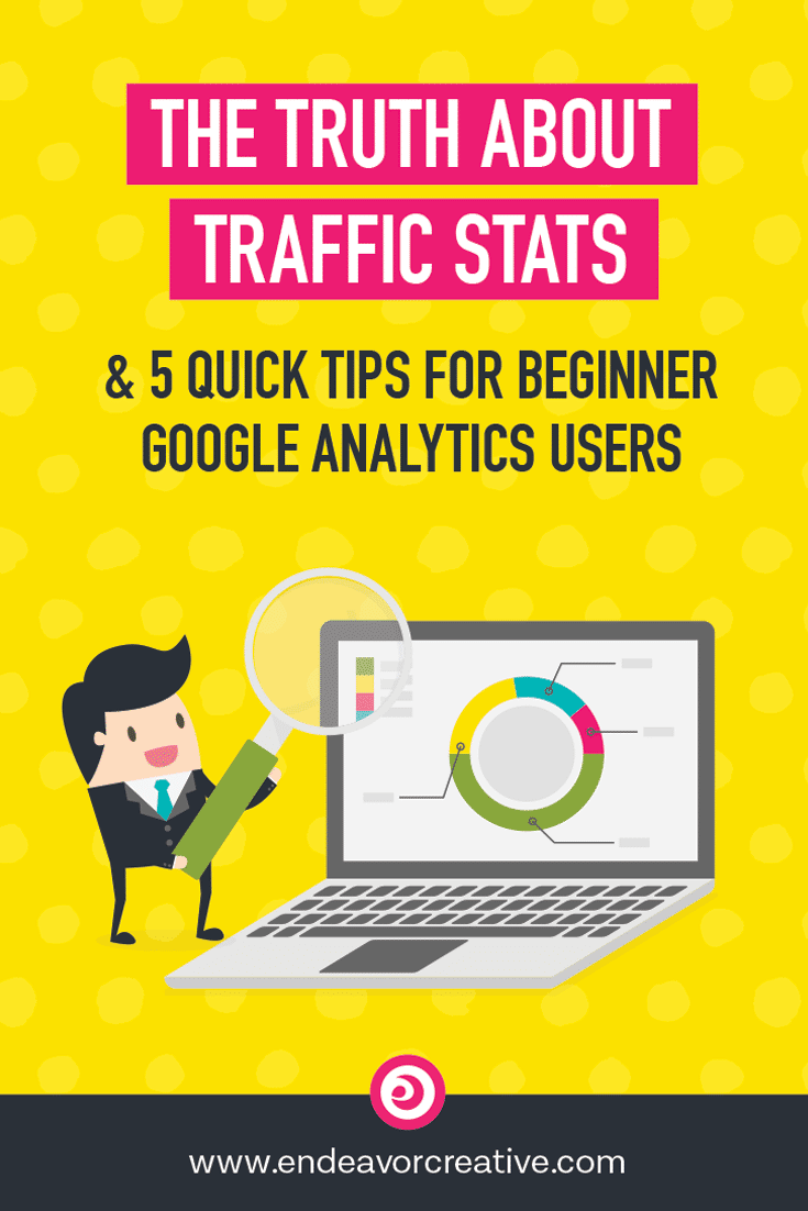 Do you feel like a total imposter when you hear other people talking about their website traffic? This might make you feel better. How to get started using Google Analytics beyond just looking at