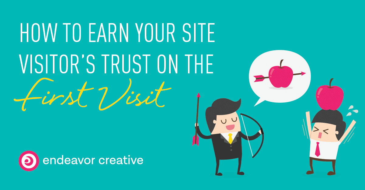 Establishing Trust & Credibility with your website design