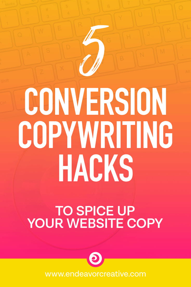 5 Conversion Copywriting Hacks