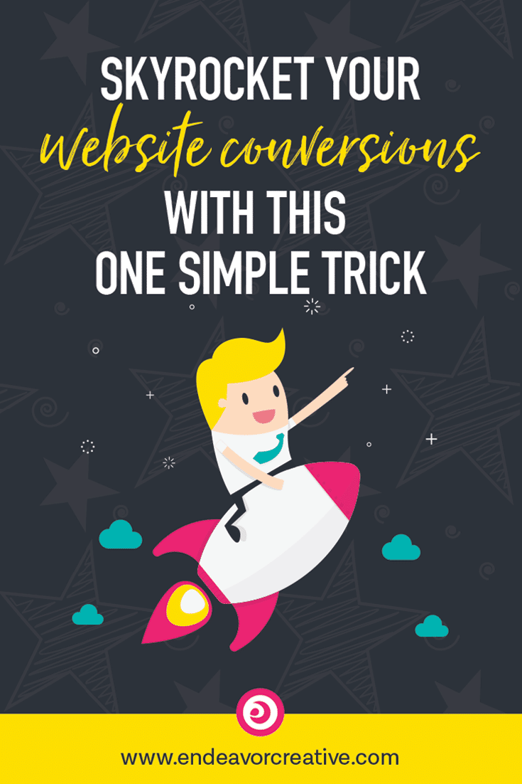 Clients not signing up? What you think is the problem (not enough traffic) probably isn't the problem. Skyrocket your conversions with this one simple trick. #website #conversion
