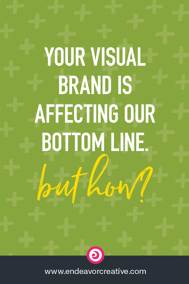 Your visual brand is affecting your bottom line. But how?