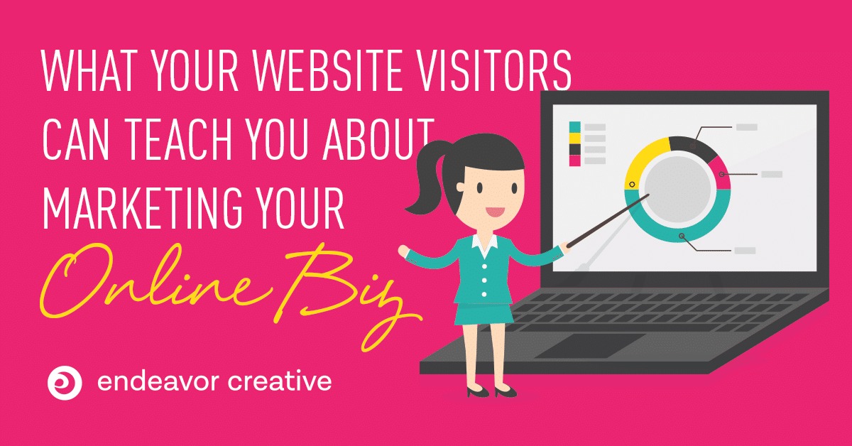 Your website visitors can teach you about online marketing