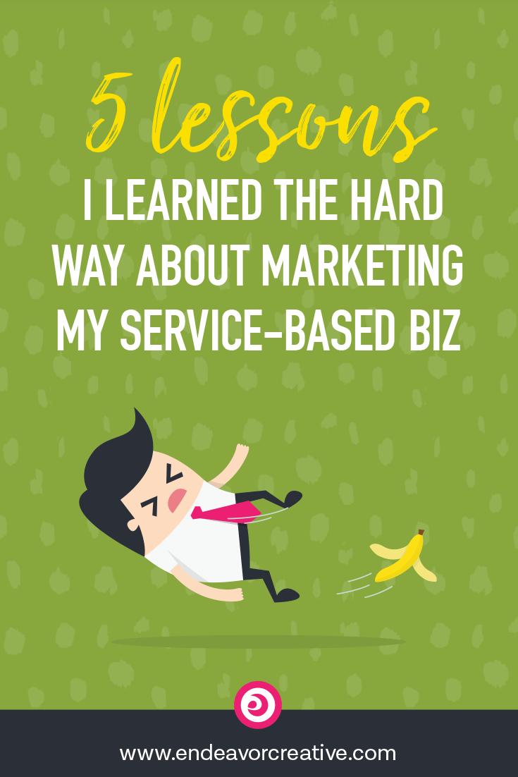 Everything I've learned about #marketing my services online the hard way. #smallbusiness #onlinemarketing #entrepreneur #solopreneur #businessmotivation #clientattraction #mindset