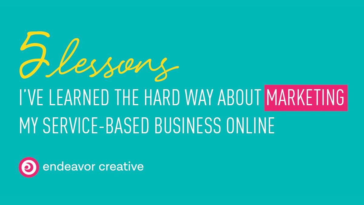 marketing service based business online