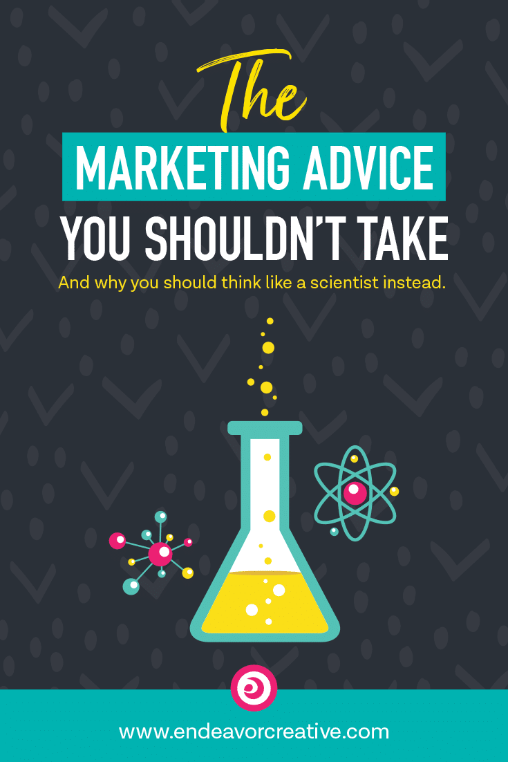 """When it comes to giving marketing advice, be aware of phrases like, """"you need to"""" and """"you must."""" They trigger stress and overwhelm and that's not going to help you get out there and get visible. #smallbusiness #solopreneur #onlinebiz #onlinemarketing"""
