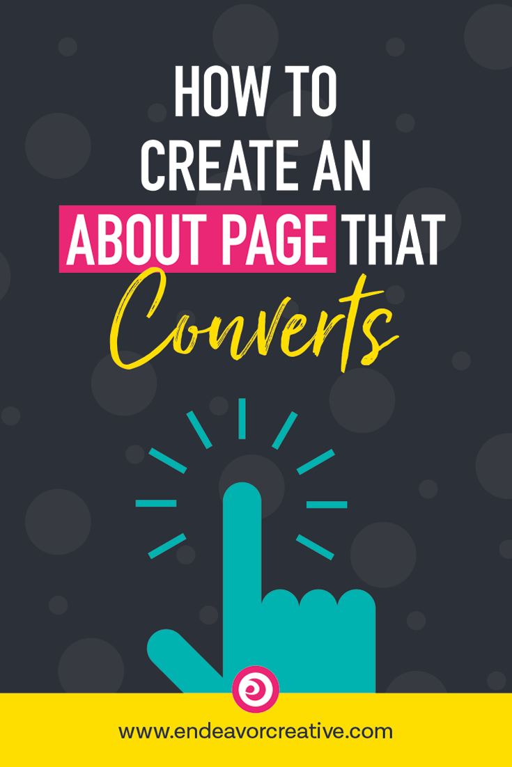 How To Create An About Page That Converts: Your about page is more important than most people recognize. Don't blow it! Get those site visitors to ACT. #conversionoptimization #websitecopywriting #webstrategy #onlinebusiness #smallbusiness #website #marketing