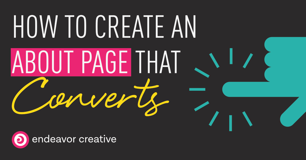 How To Create An About Page That Converts