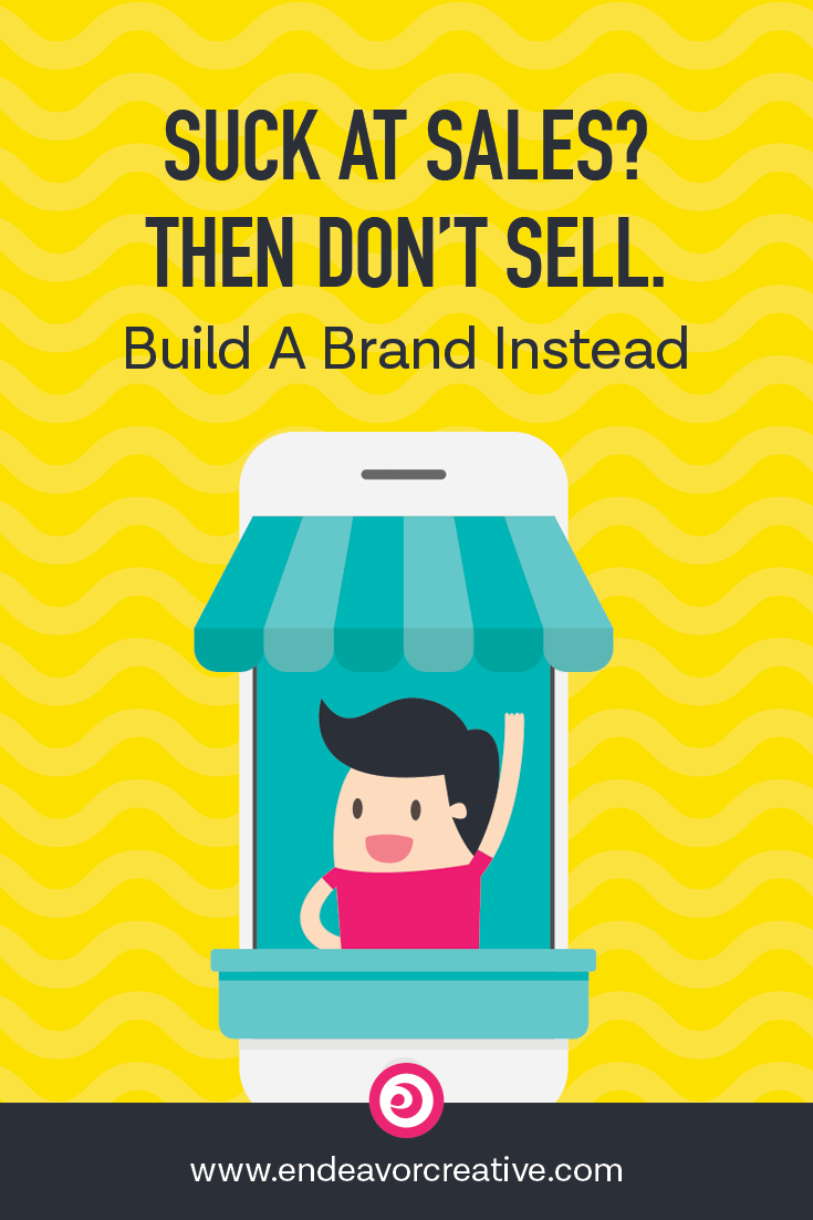 No matter how tiny your biz, you can build a brand that does the selling for you. Here's how... 
