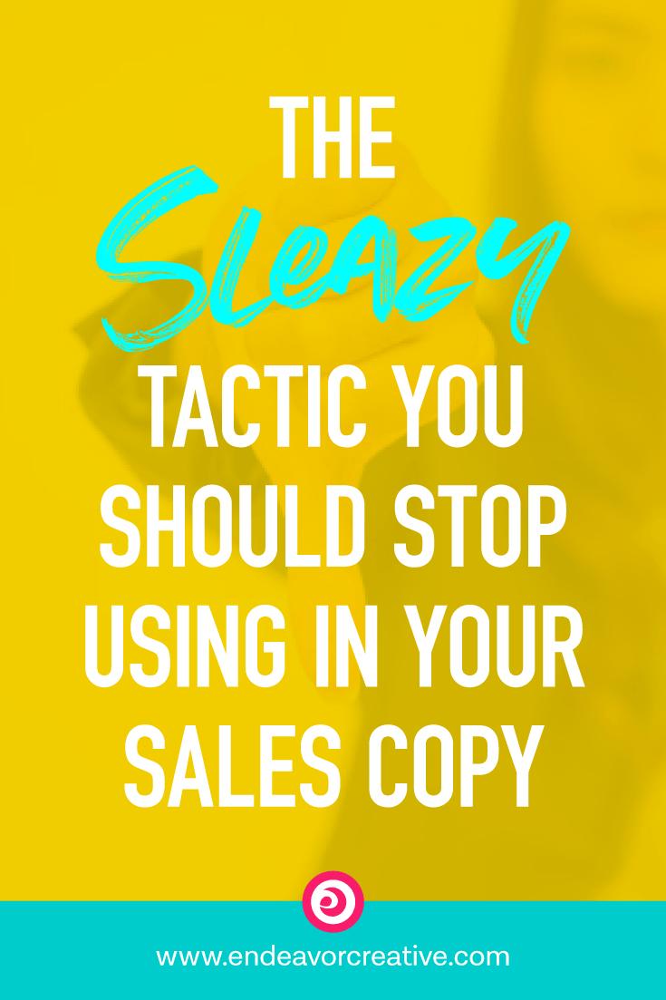 Sleazy Sales Copy