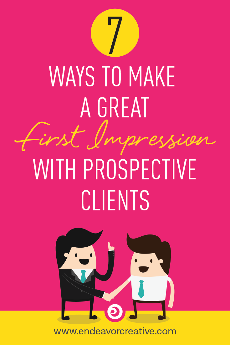 Your dream clients have reached out, hurrah! How to make sure you make a great first impression...