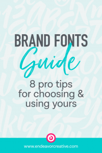 Brand Fonts Guide