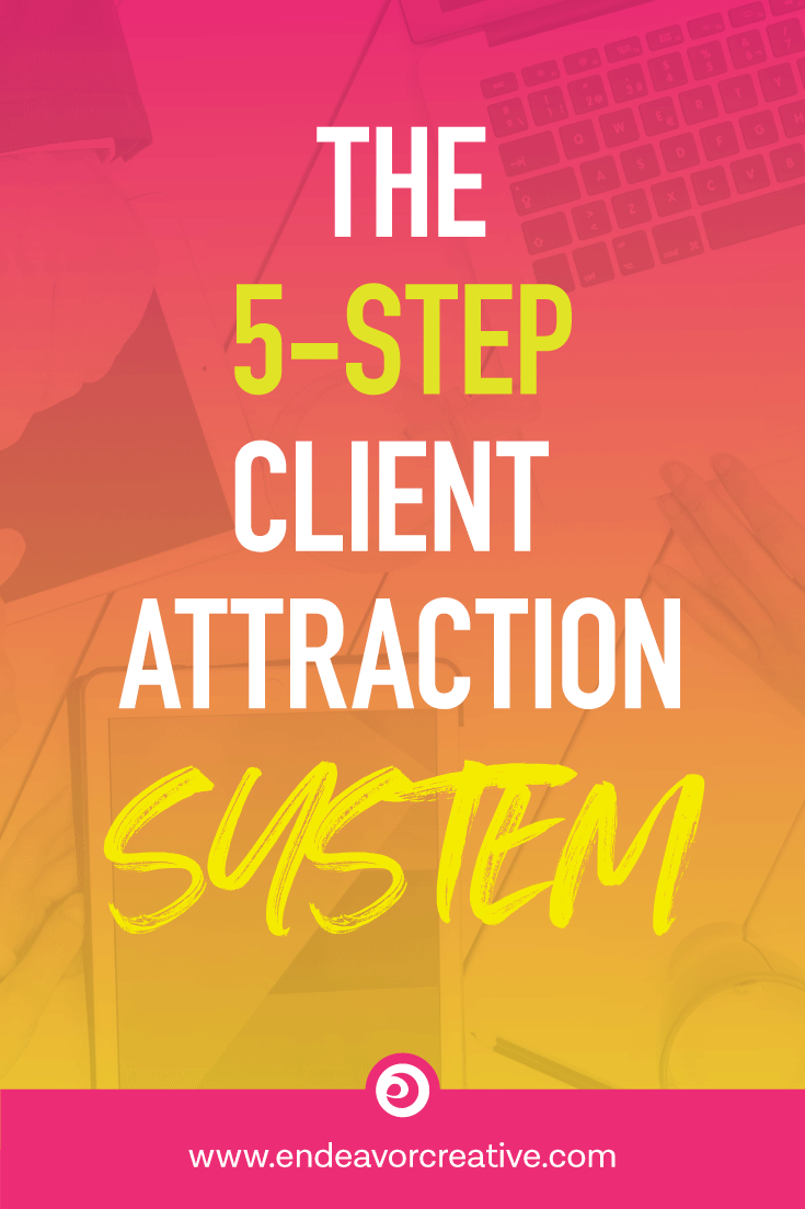 5-Step System To Attract Clients Online