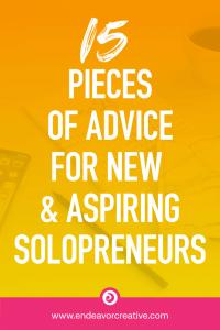 Advice for solopreneurs