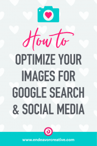 How to optimize images for seo, social media, and pinterest