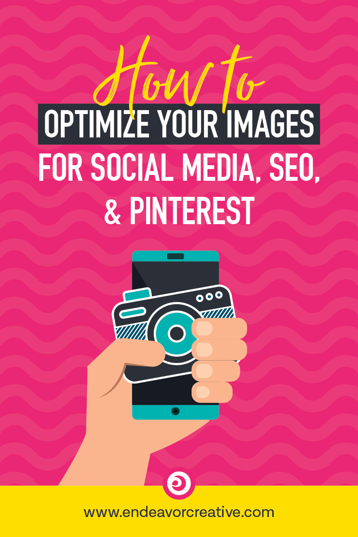 How to optimize your blog images for social media, seo, and Pinterest 